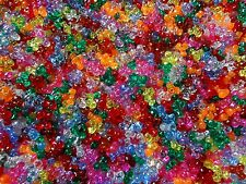 Lot of 1000 Tri-Beads Assorted Colores Art Craft Supplies Bulk