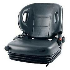 NEW MOLDED TOYOTA FORKLIFT SUSPENSION SEAT W/ SEATBELT & SWITCH PREMIUM QUALITY!