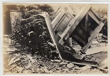 Photograph of Tokyo street damage after the 1923 Earthquake (C24722)
