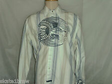 English Laundry Button Front Embroided Shirt 2XL EUC