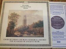 DSLO 582 Handel Utrecht Te Deum etc. / Preston