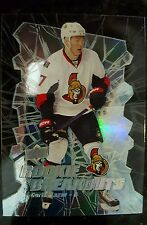 2014-2015 UPPER DECK CURTIS LAZAR ROOKIE BREAKOUTS DIE CUT /100 OIL KINGS SENS