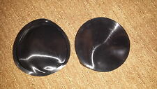 """(4) 4"""" SILICONE RUBBER (200#)MAGNET COVERS BOOTS CODE 3 WHELEN FEDERAL LIGHT BAR"""
