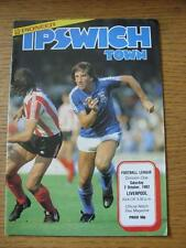 02/10/1982 Ipswich Town v Liverpool  . No obvious faults.