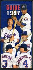 1997 Montreal Expos Baseball MLB Media GUIDE