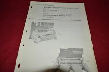 New Holland 890 Forage Harvester Operator's Manual GDOH