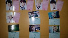 SHINEE PHOTO CARD #5#6 , ALL Total 20 Sheet - SM DREAM lucifer kpop - yg jyp