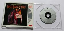 "Jerry Lee Lewis - Great Balls Of Fire - 3"" Mini CD INCH Polydor 889 312-3"