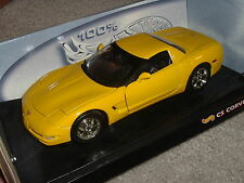 Hot Wheels CHEVY C5 CORVETTE yellow, NEW w/ Display, 1:18 RARE Y3-91, Fast Ship