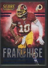 ROBERT GRIFFIN III SCORE THE FRANCHISE CARD #F19