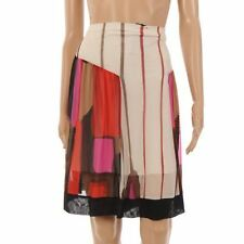 CARL OPIK Skirt White, Brown, Pink & Black Size XL / UK 16 OS 358