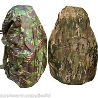 MILITARY WATERPROOF RUCKSACK COVER 120 45 LITRE BERGEN BRITISH ARMY MTP DPM