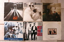 "Pet Shop Boys 6 x 7"" West End Girls Rent Suburbia It's A Sin Bering Boring What."