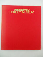Rare 1979 ALFA ROMEO History Museum Book Arese Gonzalo Garcia Photographs