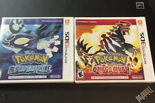 ~BRAND NEW, FACTORY SEALED~ Pokemon: Alpha Sapphire & Omega Ruby (3DS,Lot)