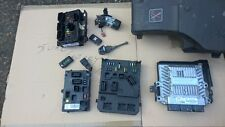 PEUGEOT 407 2.0HDI RHR ECU SET BSM BSI IGNITION KEY 2004
