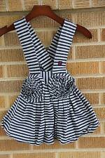 NWT~KidCuteTure~Striped Jumper Dress~Suspender~4~$60 SUMMER 2011 *RARE*
