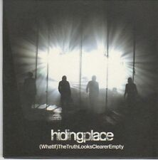 (EB80) Hiding Place, (What lf) The Truth Looks Clearer Empty - 2004 DJ CD