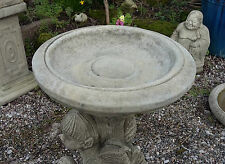 STONE GARDEN BIRD BATH TOP / FEEDER / BOWL / REPLACEMENT DISH ORNAMENT