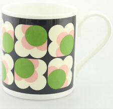 Orla Kiely Bone China Mug - Green Apple Big Spot Sunflower