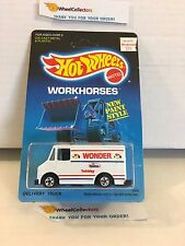 Delivery Truck 2808 * Wonder Bread * 1988 Malaysia * Vintage Hot Wheels * J11