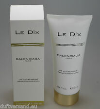 Balenciaga LE DIX 200 ml Perfumed Softening Lotion Neu / Folie