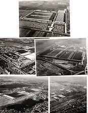 Fabbriche VOLKSWAGEN C 1970 Set di 5 mercato britannico stampa fotografie