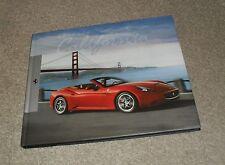Ferrari California Hardback Brochure Book 2008-2011 - English & Italian Text