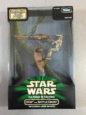 STAR WARS POTF STAP & BATTLE DROID EPISODE 1 SNEAK PREVIEW