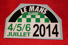 LEMANS LE MANS CLASSIC 2014 DECAL STICKER ~ small
