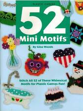 52 Mini Motifs Magnets Plastic Canvas PATTERN Holiday Seasonal Hobby Animals NEW