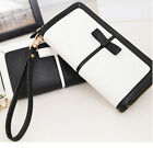 Fashion Women Handbag Lady Long Wallet Clutch Zipper Purse Bag Luxury PU Leather