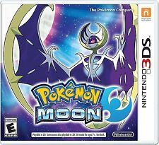 NEW Pokemon Moon (Nintendo 3DS, 2016)