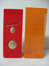NOS = Givenchy Organza JEWEL PERFUME solid perfume + pin = DISCONTINUE
