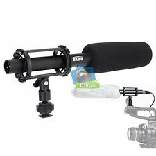 BOYA BY-PVM1000L Condenser Shotgun Microphone 3-pin XLR Output on DSLR Camcorder
