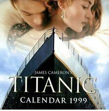 JAMES CAMERON'S TITANIC CALENDAR 1999 Film Movie Kate Winslet Leonardo DiCaprio