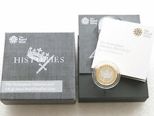 2016 Shakespeare Tragedies Piedfort £2 Two Pound Silver Proof Coin Box Coa