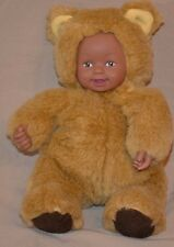 """9"""" Anne Geddes Baby Bear Plush Doll Stuffed Toy Collectors Item"""