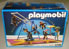 Vintage Playmobil Romani Circus Performing Chimp Monkey Act #3726 Complete