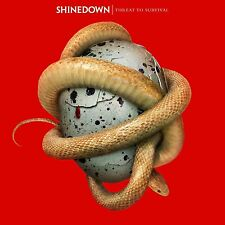 SHINEDOWN - THREAT TO SURVIVAL: CD ALBUM  (September 18th 2015)
