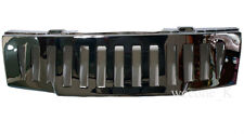 CHROME FRONT GRILL GRILLE HAMMER STYLE FOR NISSAN FRONTIER NAVARA D40 2005-2014
