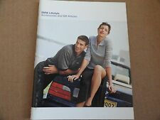 1998 BMW Lifestyle Accessories and Gifts  Owners Manual SUPPLEMENT
