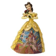4045238 Jim Shore The Beauty And The Beast Belle Castle Dress