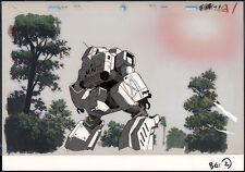 Patlabor 2: The Movie Anime Production Cel Background OP Oshii Goto '93 RARE!