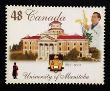 Canada #1941 MNH, Universities - University of Manitoba Stamp 2002