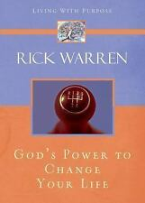God's Power to Change Your Life by Rick Warren a Christian book FREE SHIPPING