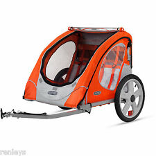 Bike Trailer Berry InStep 2 Seat Child Bicycle Carrier Stroller Cart Folding New