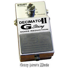 ISP Technologies Decimator II G String Noise Reduction Pedal version 2 V2
