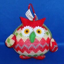 Pier 1 Imports - Owl - Christmas Ornament - NEW