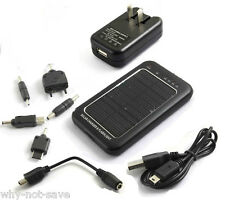 Solar External Back Battery Charger for Samsung Galaxy S2 S3 S4 i9500 Note 1 2